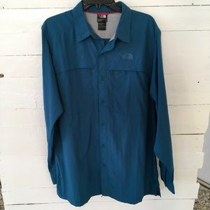 Men's The North Face Fishing Hiking Shirt